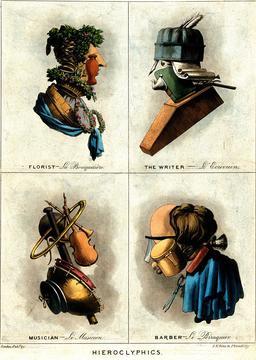 Quatre portraits en 1800. Source : http://data.abuledu.org/URI/5929f4d3-quatre-portraits-en-1800
