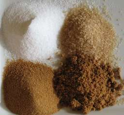 Quatre types de sucre en poudre. Source : http://data.abuledu.org/URI/50204461-quatre-types-de-sucre-en-poudre