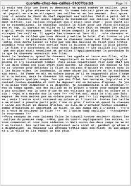 Querelle chez les cailles. Source : http://data.abuledu.org/URI/51d07fce-querelle-chez-les-cailles