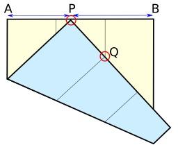 Racine cubique de 2 et origami. Source : http://data.abuledu.org/URI/52f4b397-racine-carree-de-2-et-origami