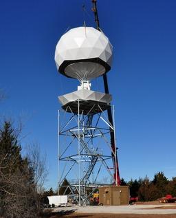 Radar météorologique. Source : http://data.abuledu.org/URI/5232d450-radar-meteorologique