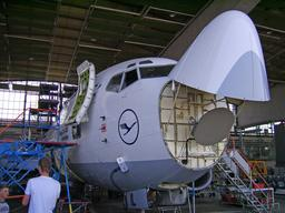 Radar météorologique dans un Boeing de la Lufthansa. Source : http://data.abuledu.org/URI/55121d31-radar-meteorologique-dans-un-boeing-de-la-lufthansa