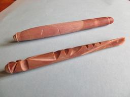 Radioles sculptées d'oursin-crayon. Source : http://data.abuledu.org/URI/541d4c9e-radioles-sculpteed-d-oursin-crayon