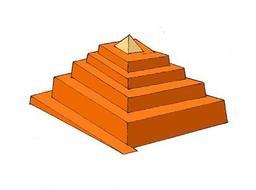 Rampe enveloppante d'accès à une pyramide. Source : http://data.abuledu.org/URI/50aeaa25-rampe-enveloppante-d-acces-a-une-pyramide