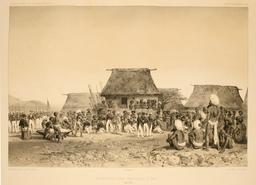 Réception des Français à Pao en 1838. Source : http://data.abuledu.org/URI/5980b246-reception-des-francais-a-pao-en-1838