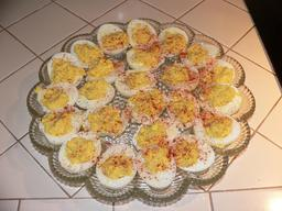 Recette d'oeufs mimosa 5. Source : http://data.abuledu.org/URI/54748f6b-recette-d-oeufs-mimosa-5