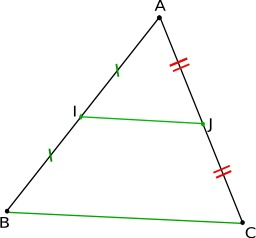 Réciproque du théorème de Thalès. Source : http://data.abuledu.org/URI/50c50076-reciproque-du-theoreme-de-thales
