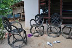 Recyclage de pneus en Malaisie. Source : http://data.abuledu.org/URI/582e943c-recyclage-de-pneus-en-malaisie
