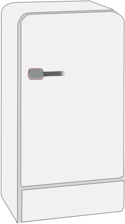Réfrigérateur blanc. Source : http://data.abuledu.org/URI/5101bb06-refrigerateur-blanc