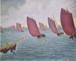 Régate à Concarneau en 1891. Source : http://data.abuledu.org/URI/54a7e555-regate-a-concarneau-en-1891