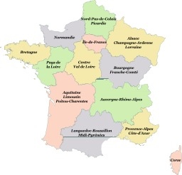 Régions de France 2016. Source : http://data.abuledu.org/URI/56c65eb6-regions-de-france-2016