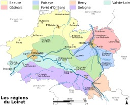 Régions du Loiret. Source : http://data.abuledu.org/URI/51cf54fd-regions-du-loiret