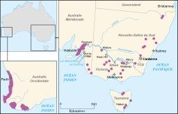 Régions viticoles en Australie. Source : http://data.abuledu.org/URI/51cf58e3-regions-viticoles-en-australie