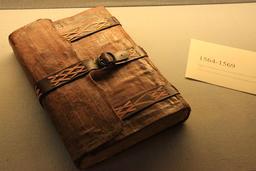 Registre de 1564 à Amboise. Source : http://data.abuledu.org/URI/55cc6056-registre-de-1564-a-amboise