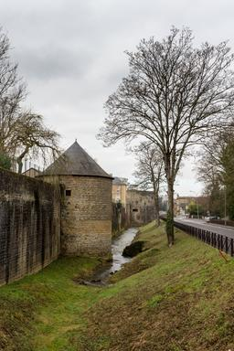 Rempart et fossé de Charleville-Mézières. Source : http://data.abuledu.org/URI/598d8593-rempart-et-fosse-de-charleville-mezieres