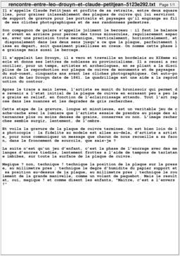 Rencontre entre Léo Drouyn et Claude Petitjean. Source : http://data.abuledu.org/URI/5123e292-rencontre-entre-leo-drouyn-et-claude-petitjean