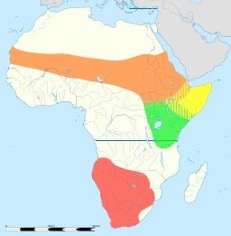 Répartition des autruches. Source : http://data.abuledu.org/URI/538792a5-repartition-des-autruches