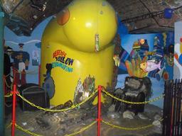 Réplique du sous-marin jaune des Beatles. Source : http://data.abuledu.org/URI/546af25a-replique-du-sous-marin-jaune-des-beatles