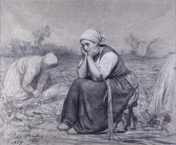 Repos pendant la moisson. Source : http://data.abuledu.org/URI/514ee1d0-repos-pendant-la-moisson