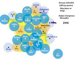 Réseau des radars météorologiques français. Source : http://data.abuledu.org/URI/523327ed-reseau-des-radars-meteorologiques-francais