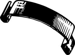 Ressort à lame de feuillard. Source : http://data.abuledu.org/URI/50c6ea0f-ressort-a-lame-de-feuillard