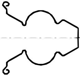Ressort en fil métallique. Source : http://data.abuledu.org/URI/50c6e8ea-ressort-en-fil-metallique