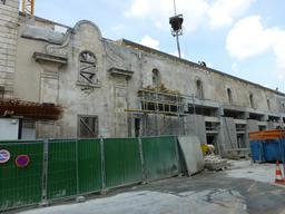 Restauration de monument historique à La Rochelle. Source : http://data.abuledu.org/URI/58211000-restauration-de-monument-historique-a-la-rochelle