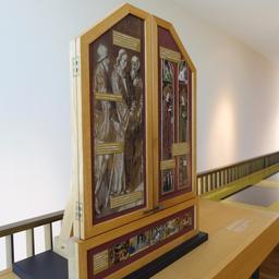 Rétable de présentation au musée des beaux-arts à Dijon. Source : http://data.abuledu.org/URI/59d69666-retable-de-presentation-au-musee-des-beaux-arts-a-dijon