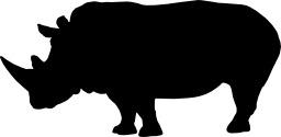 Rhinocéros. Source : http://data.abuledu.org/URI/47f5cdad-rhinoceros