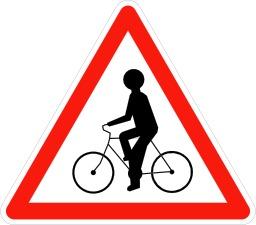 Risque de débouché de cyclistes. Source : http://data.abuledu.org/URI/509408c0-risque-de-debouche-de-cyclistes