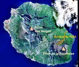 Rivière de L'Est de La Réunion. Source : http://data.abuledu.org/URI/5276aa64-riviere-de-l-est-de-la-reunion