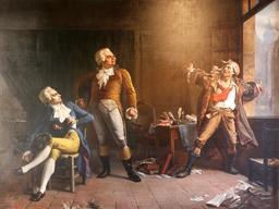 Robespierre, Danton et Marat. Source : http://data.abuledu.org/URI/50afaa0e-robespierre-danton-et-marat