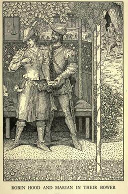 Robin des Bois et Marianne. Source : http://data.abuledu.org/URI/52c735d7-robin-des-bois-et-marianne