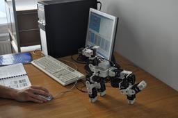 Robot Bioloid. Source : http://data.abuledu.org/URI/58f7314f-robot-bioloid