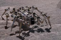 Robot lunaire à huit pattes. Source : http://data.abuledu.org/URI/519dd7a5-robot-lunaire-a-huit-pattes