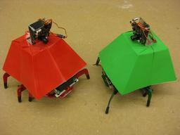 Robots hexapodes. Source : http://data.abuledu.org/URI/58e9de47-robots-hexapodes