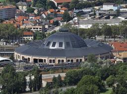 Rotonde ferroviaire de Chambéry. Source : http://data.abuledu.org/URI/56be8074-rotonde-ferroviaire-de-chambery