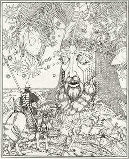 Rouslan et la tête du géant. Source : http://data.abuledu.org/URI/52bc3a92-rouslan-et-la-tete-du-geant
