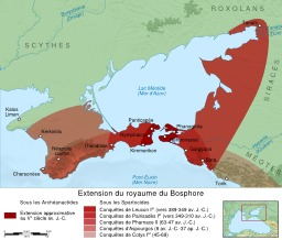 Royaume du Bosphore. Source : http://data.abuledu.org/URI/51f30cf5-royaume-du-bosphore