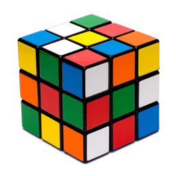 Rubiks cube mélangé. Source : http://data.abuledu.org/URI/5021882c-rubiks-cube-melange
