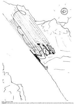 Rudy fait du ski. Source : http://data.abuledu.org/URI/51bb0f31-rudy-fait-du-ski
