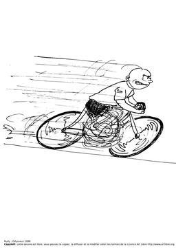 Rudy fait du vélo. Source : http://data.abuledu.org/URI/51bb0e8e-rudy-fait-du-velo