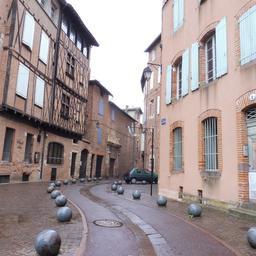 Rue d'Engueysse à Albi. Source : http://data.abuledu.org/URI/59c18b04-rue-d-engueysse-a-albi