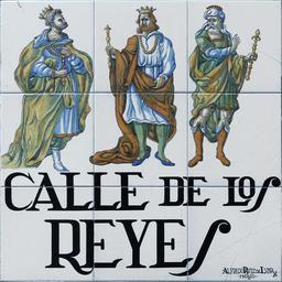 Rue des rois mages à Madrid. Source : http://data.abuledu.org/URI/586eac56-rue-des-rois-mages-a-madrid