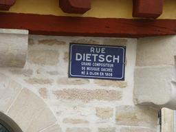 Rue Dietsch à Dijon. Source : http://data.abuledu.org/URI/581c920b-rue-dietsch-a-dijon