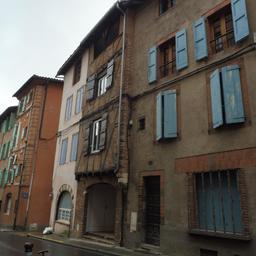 Rue Rinaldi à Albi. Source : http://data.abuledu.org/URI/59c18563-rue-rinaldi-a-albi