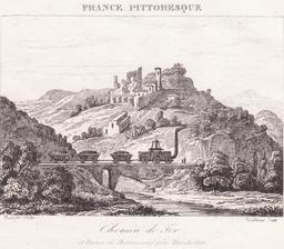 Ruines de Chateauneuf près de Rive-de-Gier. Source : http://data.abuledu.org/URI/54b049c6-ruines-de-chateauneuf-pres-de-rive-de-gier