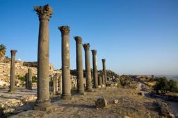 Ruines de Umm Qais en Jordanie. Source : http://data.abuledu.org/URI/547f6438-ruines-de-umm-qais-en-jordanie