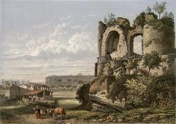 Ruines du château des quatre fils Aymon. Source : http://data.abuledu.org/URI/5942eae4-ruines-du-chateau-des-quatre-fils-aymon