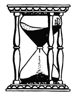 Sablier (héraldique). Source : http://data.abuledu.org/URI/524c7dc8-sablier-heraldique-
